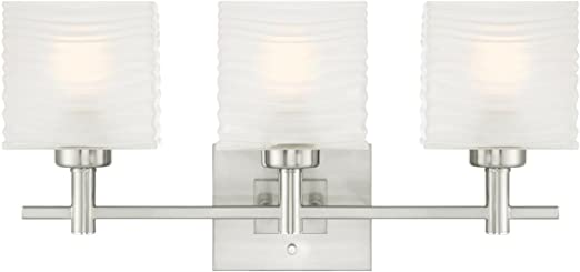 Westinghouse 6227900 Sylvestre Three-Light Indoor Wall Fixture