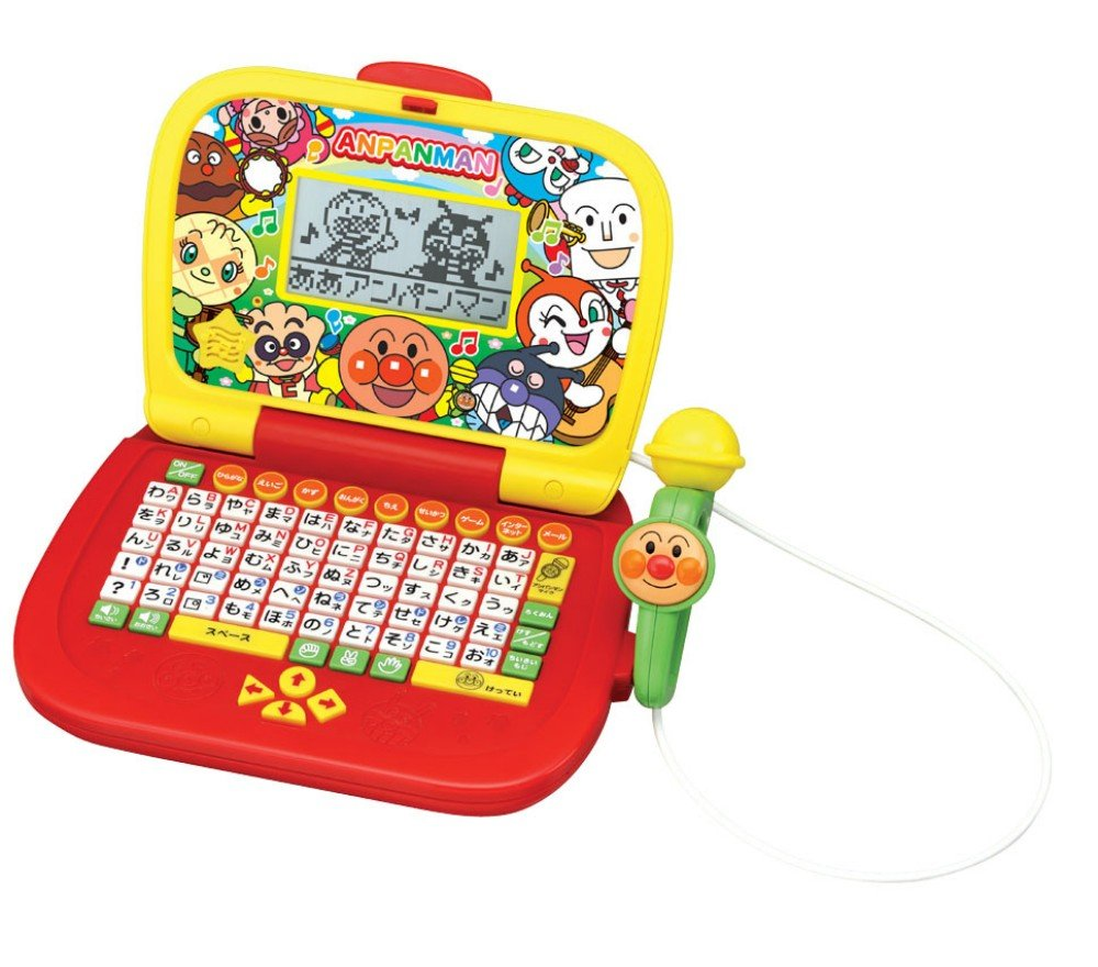 Anpanman Singing  Typing  [Love PC] [Toy] (japan import)
