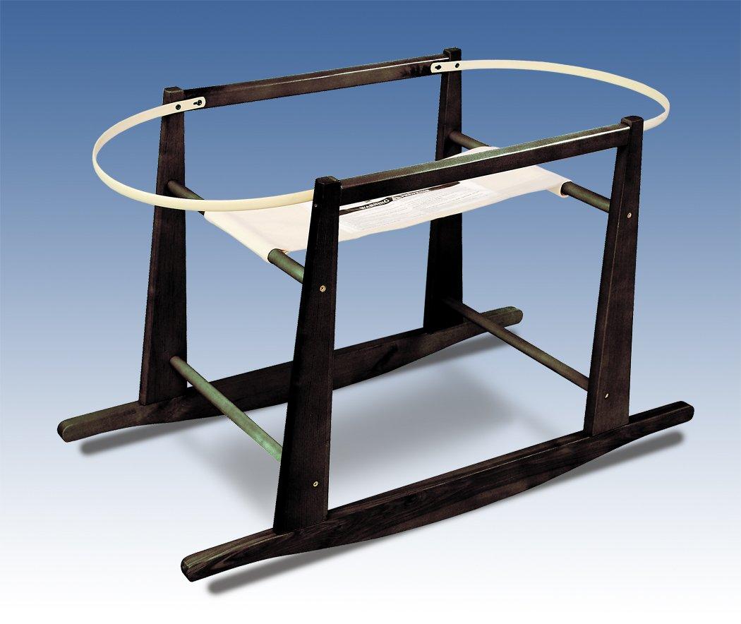Jolly Jumper - Rocking Moses Basket Stand Antique Black 259