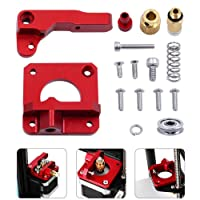CR-10 Extruder Upgraded Replacement, 3D Printer Parts MK8 Extruder Aluminum Alloy CR-10 Extruder for 3D Printer Creality CR-10 Mini/CR-10 S/CR-10 S4/CR-10 S5/CR-10 Plus