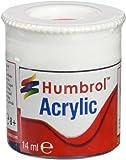 Humbrol 12ml Acrylic Paint No. 238 Gloss (Arrow Red)