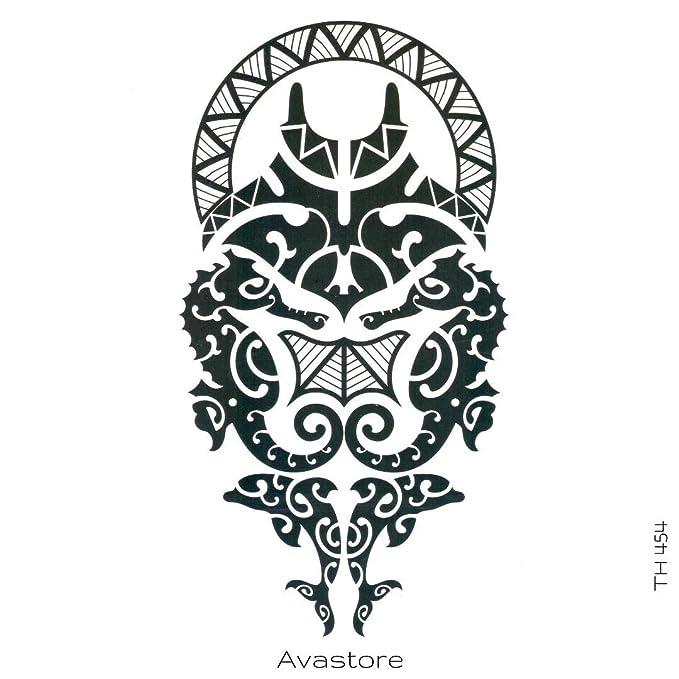 Tatuaje temporal de Mori Polyenesia OCDEANIDE Tatuaje efímero ...