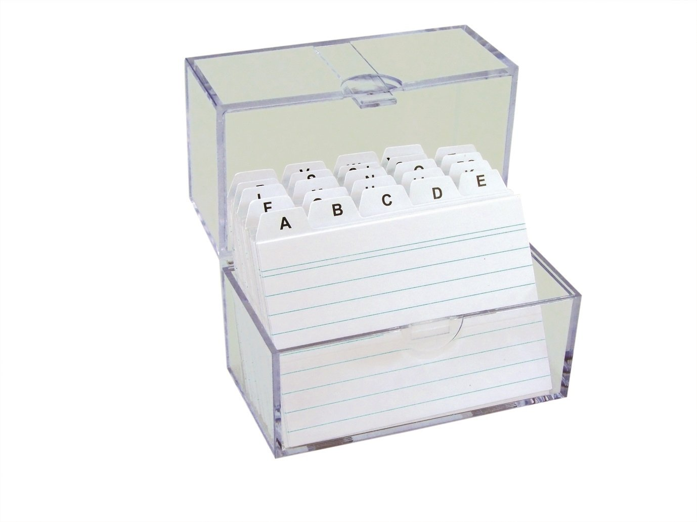 TSI Card Index Box A7 Filled with lined index cards 4022792659705