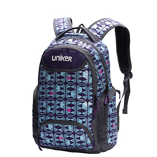 Amazon.com: Uniker Backpacks Bookbags Knapsack School Bag 18 Inch Unisex: Computers & Accessories