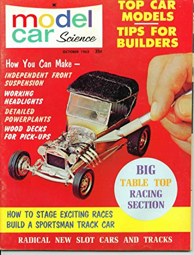 Model Car Science Magazine October 1963