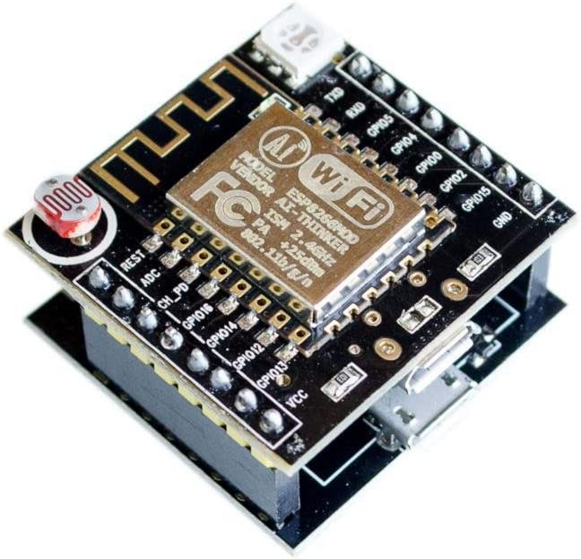 CANADUINO Witty Cloud ESP8266 IoT WiFi compatible with Arduino USB Adapter