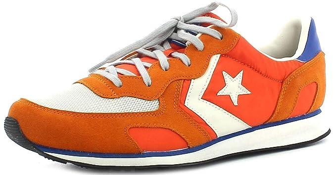 15d364f18882 Converse Auckland Racer Distressed Ox Sport Shoes Orange Man  Amazon ...