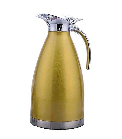 Frasco de vacío de acero inoxidable Termo de doble capa Botella de café de estilo europeo