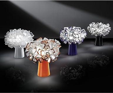 SLAMP Lámpara de mesa diseño Clizia, blanco 4.00 wattsW