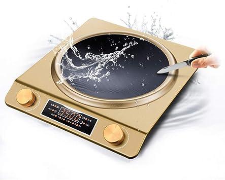 Placa inducción,Placa vitrocerámica portatil, 3500 W de ...