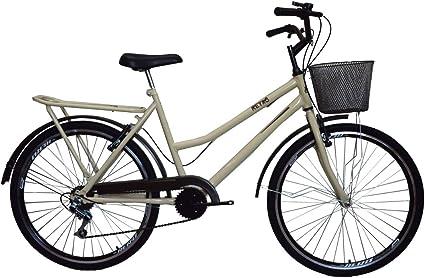 Bicicleta Retrô classic new bike aro 26 6 marchas
