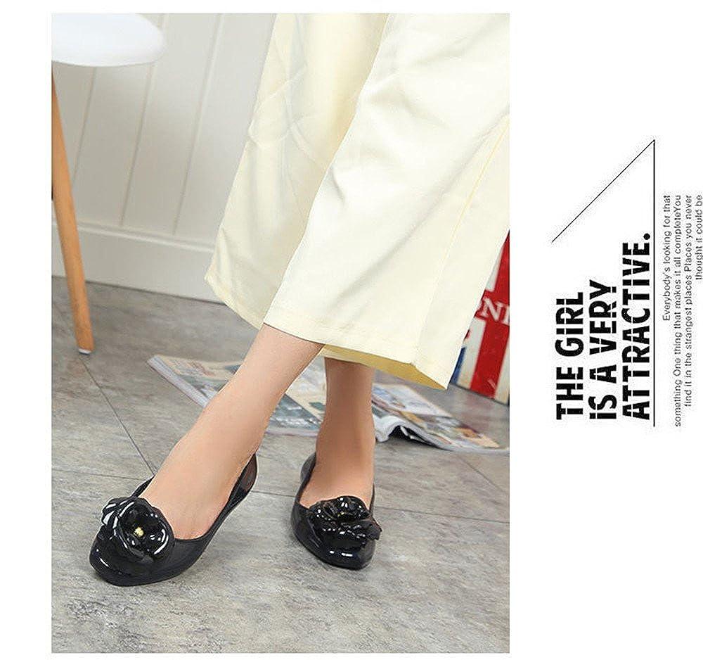 MIKA HOM Womens Hurricane Glossy /& Matte Waterproof Jelly Shoes Rain Shoes