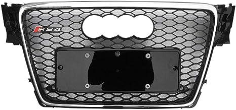 Image ofXinshuo Rejilla del radiador de malla tipo ABS tipo panal de ABS para RS4 estilo A4 / S4 B8 2009-2012