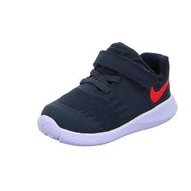 size 40 97e1e 14b86 Nike Star Runner (TDV), Chaussons Bas Mixte bébé, Multicolore (Anthracite