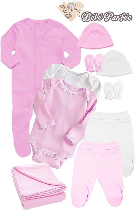Bebé Par`Fée - Caja regalo con prendas de vestir para bebé de 0 a