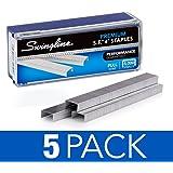 Swingline Staples, Premium, S.F. 4, 0.25pulgadas Longitud, 210por tira, 5,000por caja (S7035450)