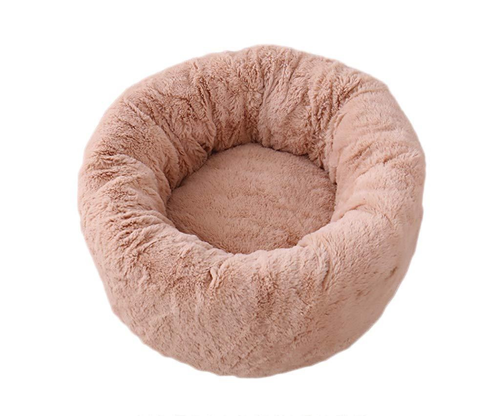 Novopus:Cama para Mascotas Gatos Perros pequeños y medianos con Cojín Suave Oval Redondo Anidación de donas Cueva Dormir Profundo Cama Tibial (marrón): Amazon.es: Productos para mascotas