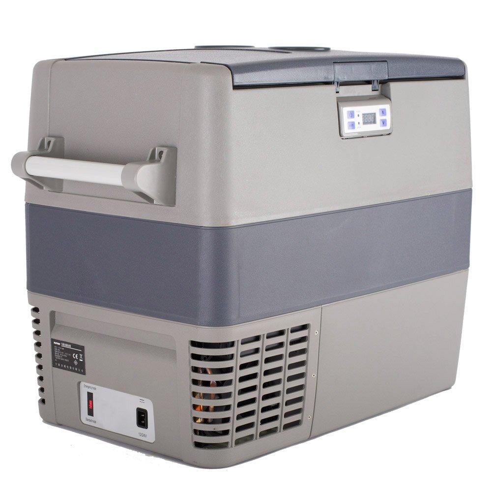 Smad 12v Refrigerator Portable Freezer for Camping Car Vehicle Truck 54 Quart, Compressor Fridge Freezer 4℉