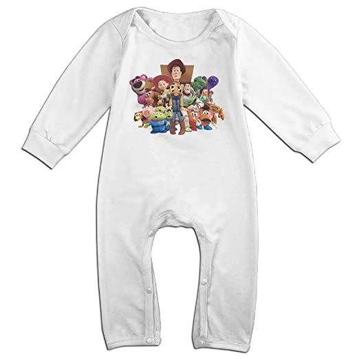 f61b72e1f Amazon.com  Baby 100% Cotton Long Sleeve Onesies Romper Suit Toy ...