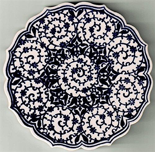 Handmade Ceramic Coasters Set/4
