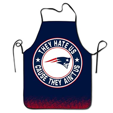 They Hate Us Cause They Aint Us Bib Apron, 52 Cm X 72 Cm