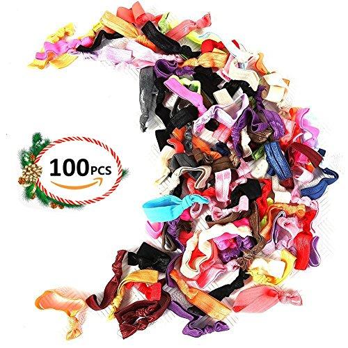 hair ties 100 - 2