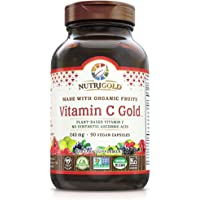 Organic Vitamin C Gold, Whole-food Vitamin C Supplement from Organic Berries and Fruits - NOT Synthetic Ascorbic Acid…