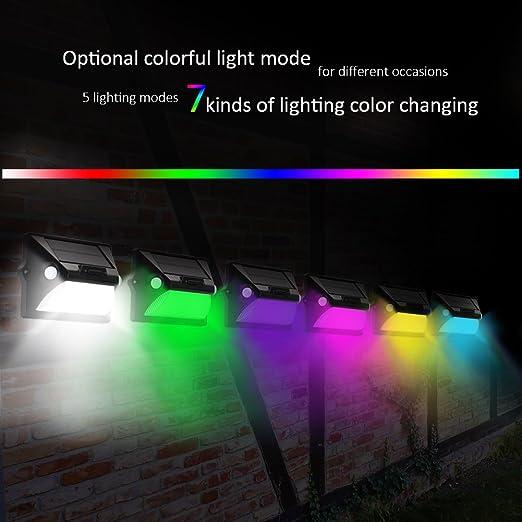 Lampade Solari Da Giardino Amazon.Lampade Solari Per Giardino Luci Solari Da Giardino A Energia Solare Illuminazione Da Esterno Impermeabile Luce Di Sicurezza Luce Solare Da Giardino