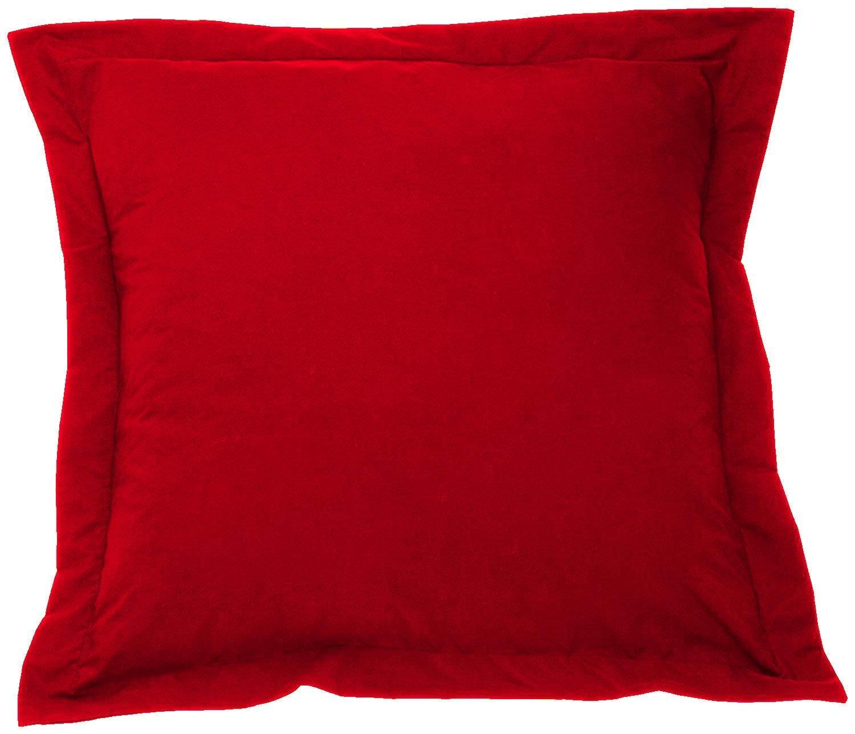 rahoo European Shams 26x26 Set of 2 Euro Pillow Shams Soft Cases Cotton Euro Pillow Cover 500 TC Navy Blue Euro Sham with 100/% Egyptian Cotton