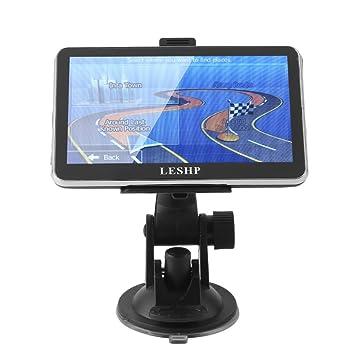 LESHP - Navegador GPS para Coche de 8 GB con Sistema de Navegación y Memoria Interna (5 Pulgadas): Amazon.es: Electrónica