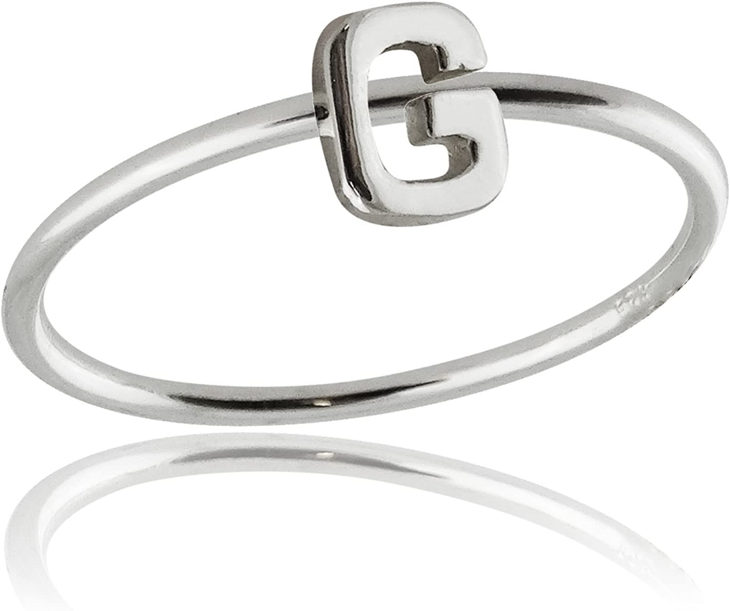 4 Authentic 925 Sterling Silver Egyptian Ankh Cross Ring Available in Sizes 4-10