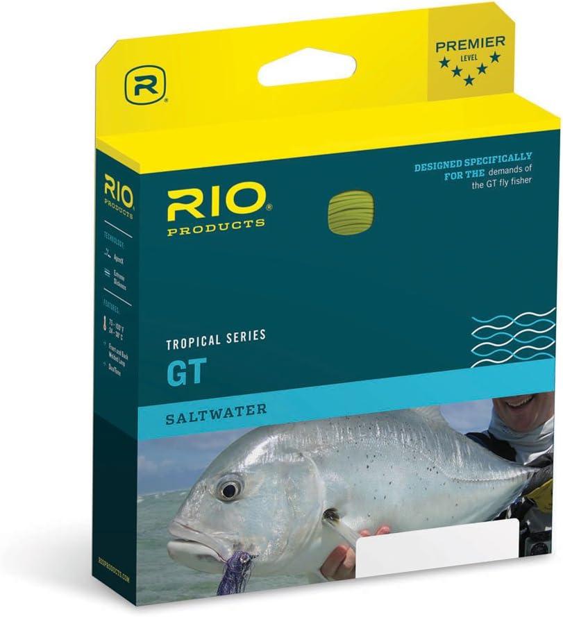 550 g Angelschnur Kelp-Orange Rio Fliegenfischschnur GT Pose
