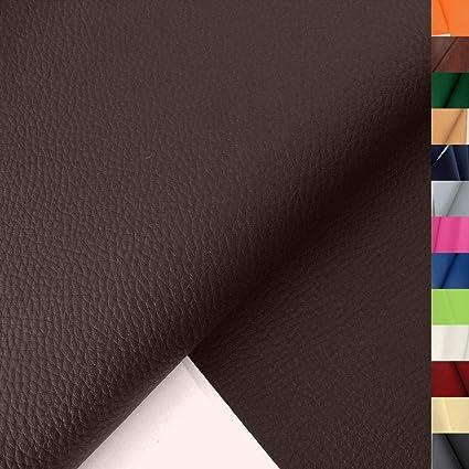 Tolko Lederimitat Mit Rindsleder Optik Weiche Premium Meterware Für Stuhl Bank Sessel Sofa Sitzbezug 140cm Breit Kunstleder Bezugstoff Polsterstoff Polsterbezug Möbelbezug Möbelstoff Braun Amazon De Küche Haushalt