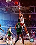 Wilt Chamberlain Philadelphia 76ers 1966 NBA Action Photo 8x10
