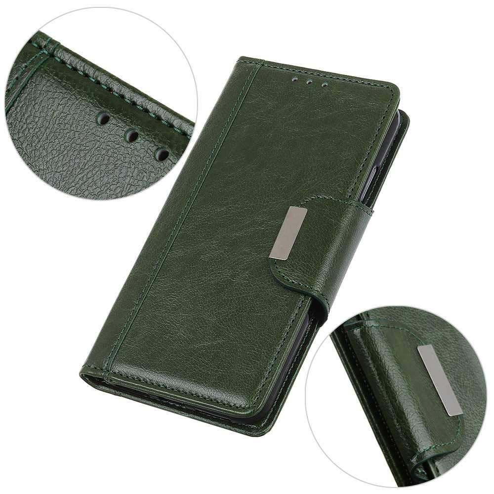 CAXPRO/® Cover Galaxy A20 Bianco Premium Custodia a Portafoglio in Pelle Magnetica Flip Cover con Funzione di Appoggio per Samsung Galaxy A20