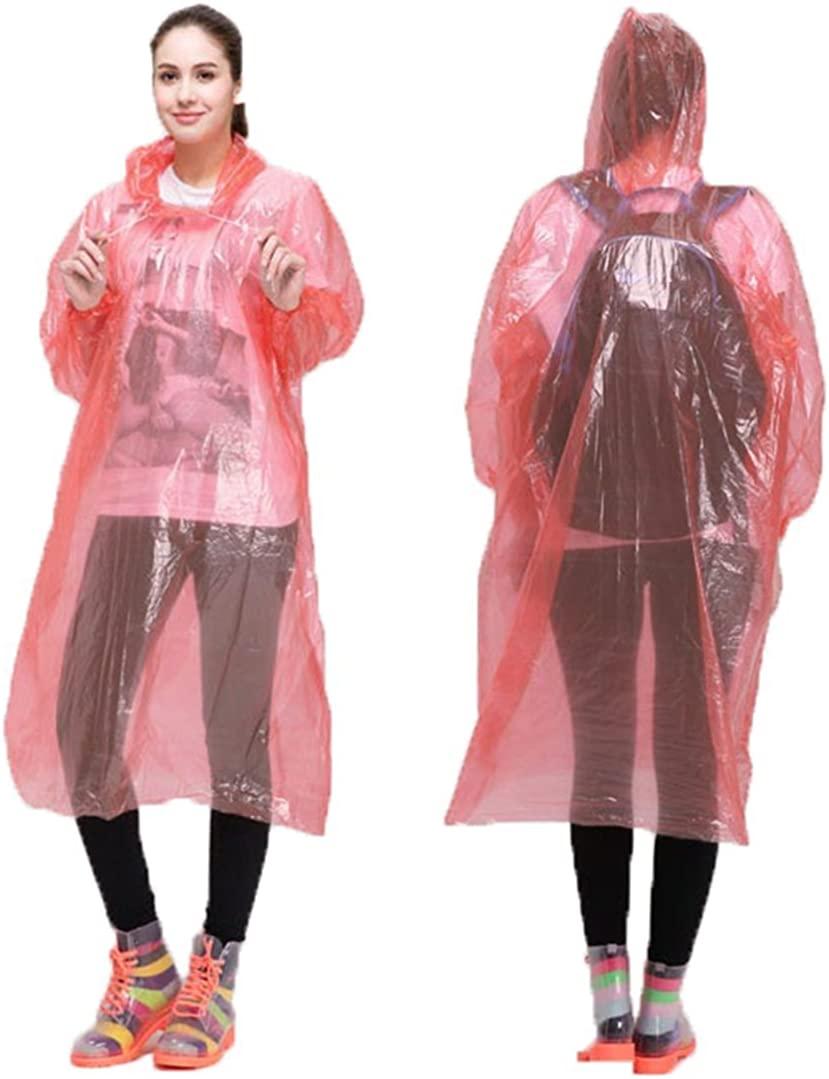Regenjacke B/älle f/ür den Innenbereich mit shoesover Displayschutzfolie -Effekt CRIVERS Einweg-Notfall-Regenjacke Poncho