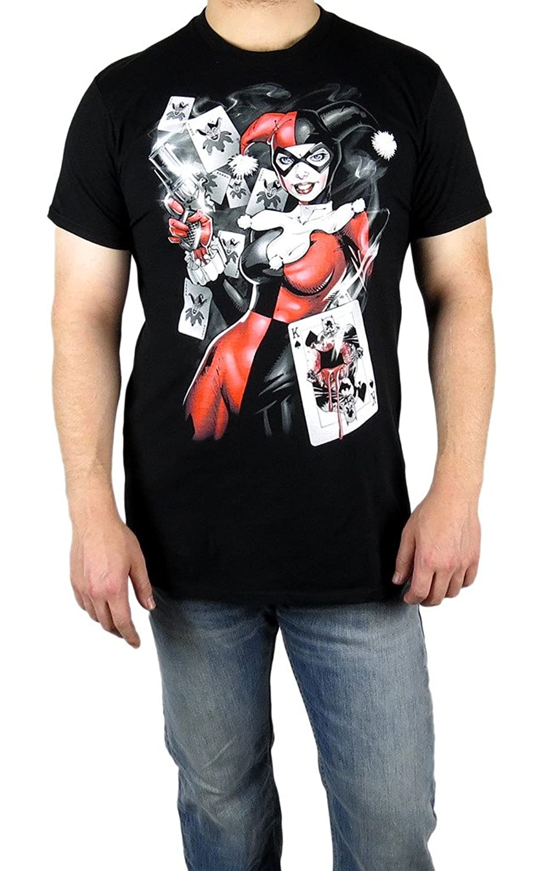 Batman Harley Quinn Smoking Gun T Shirt