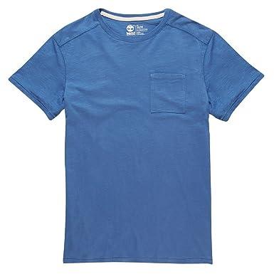 Para hombre Timberland bolsillo diseño de printed hues River T-de ...