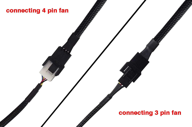 Fan Cords /& Accessories 72 Fan PWR Cord