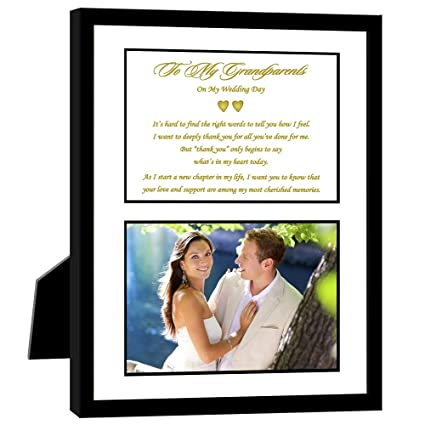 Amazon Thank You Wedding Gift For Grandparents Mat Board