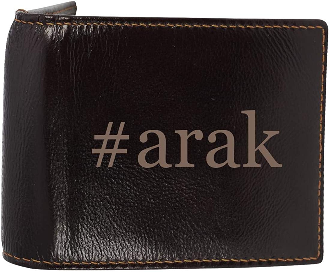 #Arak - Genuine Engraved Soft Cowhide Bifold Leather Wallet