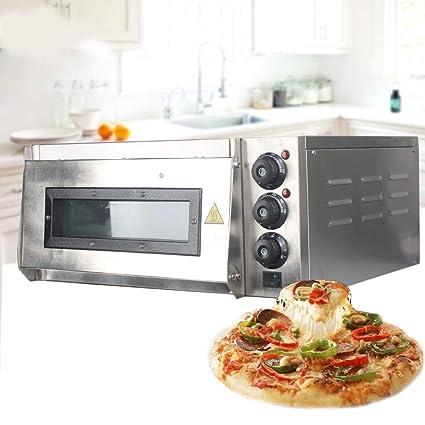 LWQ Horno de Pizza, 20L eléctrico Horno para Pizzas de la Torta de ...