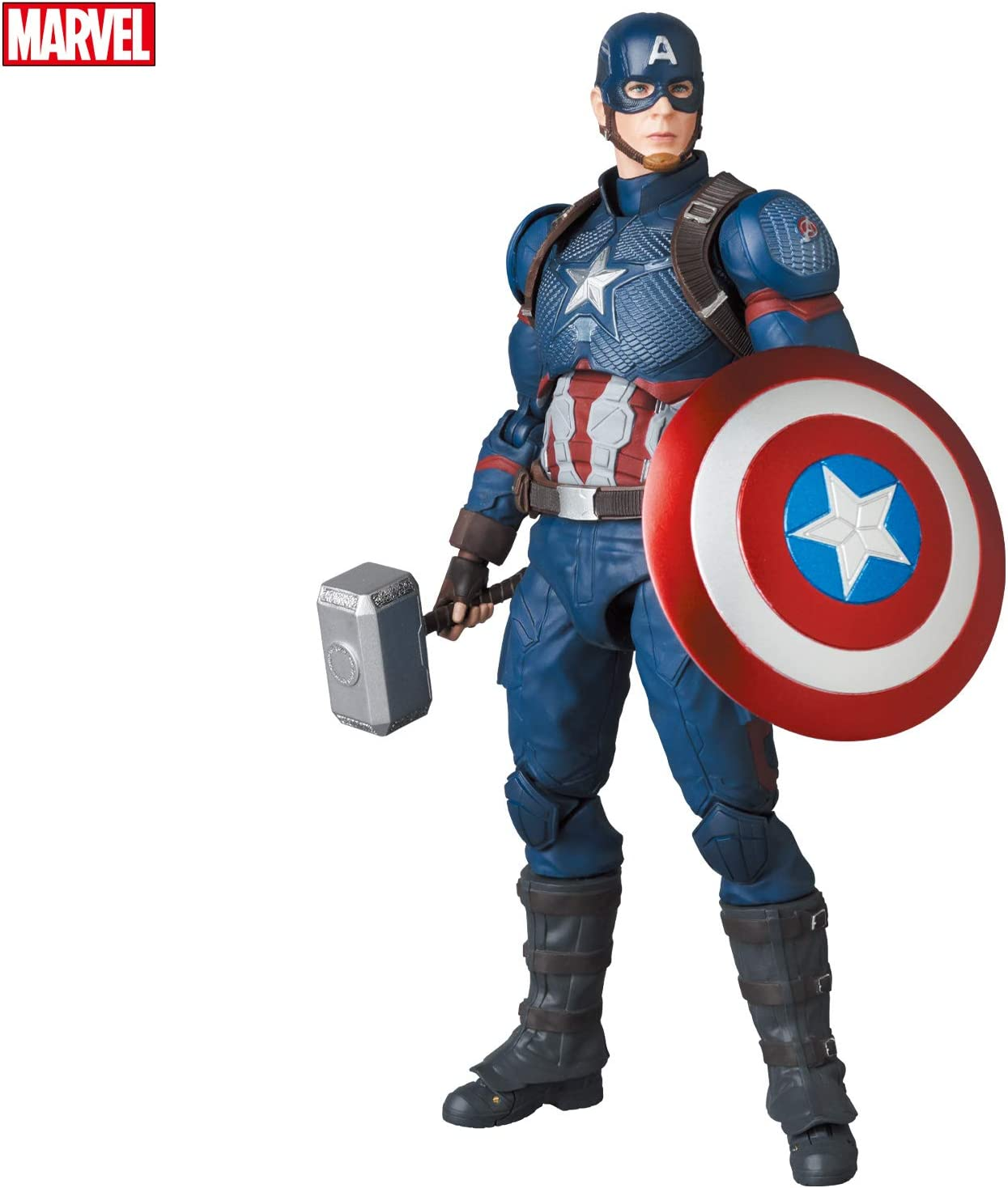 MAFEX マフェックス No.130 CAPTAIN AMERICA キャプテン アメリカ ENDGAME Ver.
