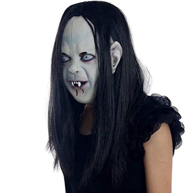 Creepy Scary Halloween Makeup.Chen Latex Creepy Scary Halloween Party Makeup Zombie Ghost