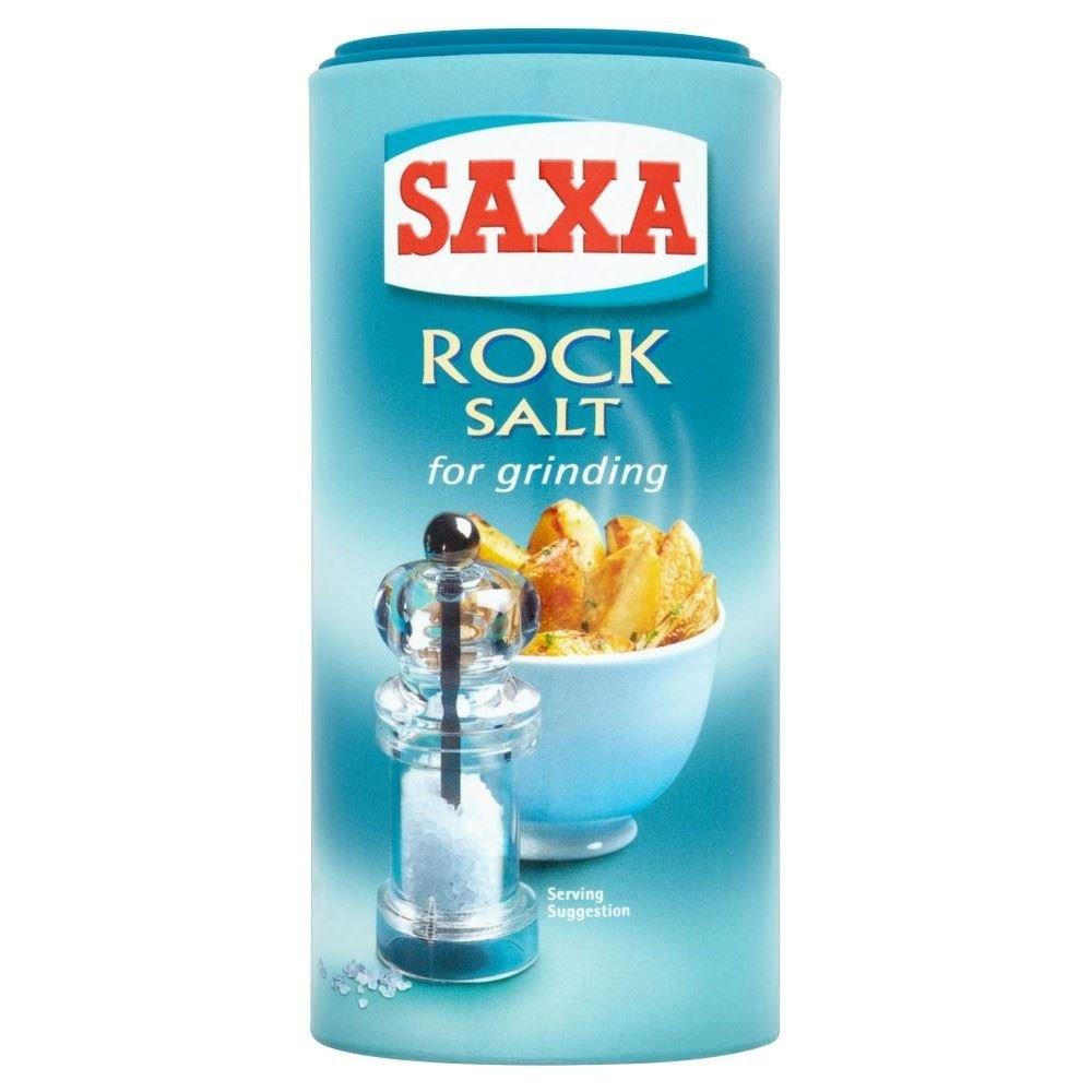 Saxa Rock Salt Grinder (350g)