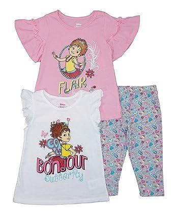 09b4482f3 Amazon.com: Fancy Nancy Little Girls' Three-Piece Legging Set: Clothing