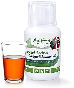 AniForte Aceite de Salmón Omega 3 100 ml. Suplemento Natural para ...