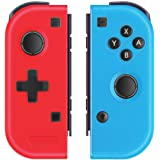 Left and Right Wireless Pro Controller Compatible with Nintendo Switch Gyro Axis Gaming Gamepad Joypad Non-Original - PAWHITS