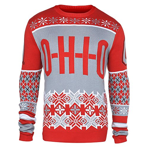 Ohio State Buckeyes Ugly Sweater, Ohio State Christmas Sweater ...