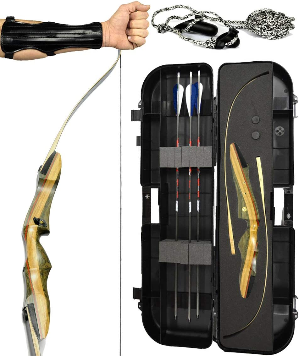 Spyder XL Takedown Recurve Bow - Ready 2 Shoot Archery Set